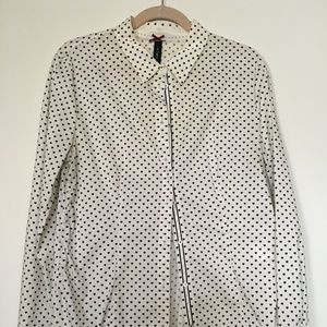 Marc Cain Black and White Heart Shirt